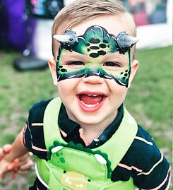 Face painting for children's birthday parties - MMENT