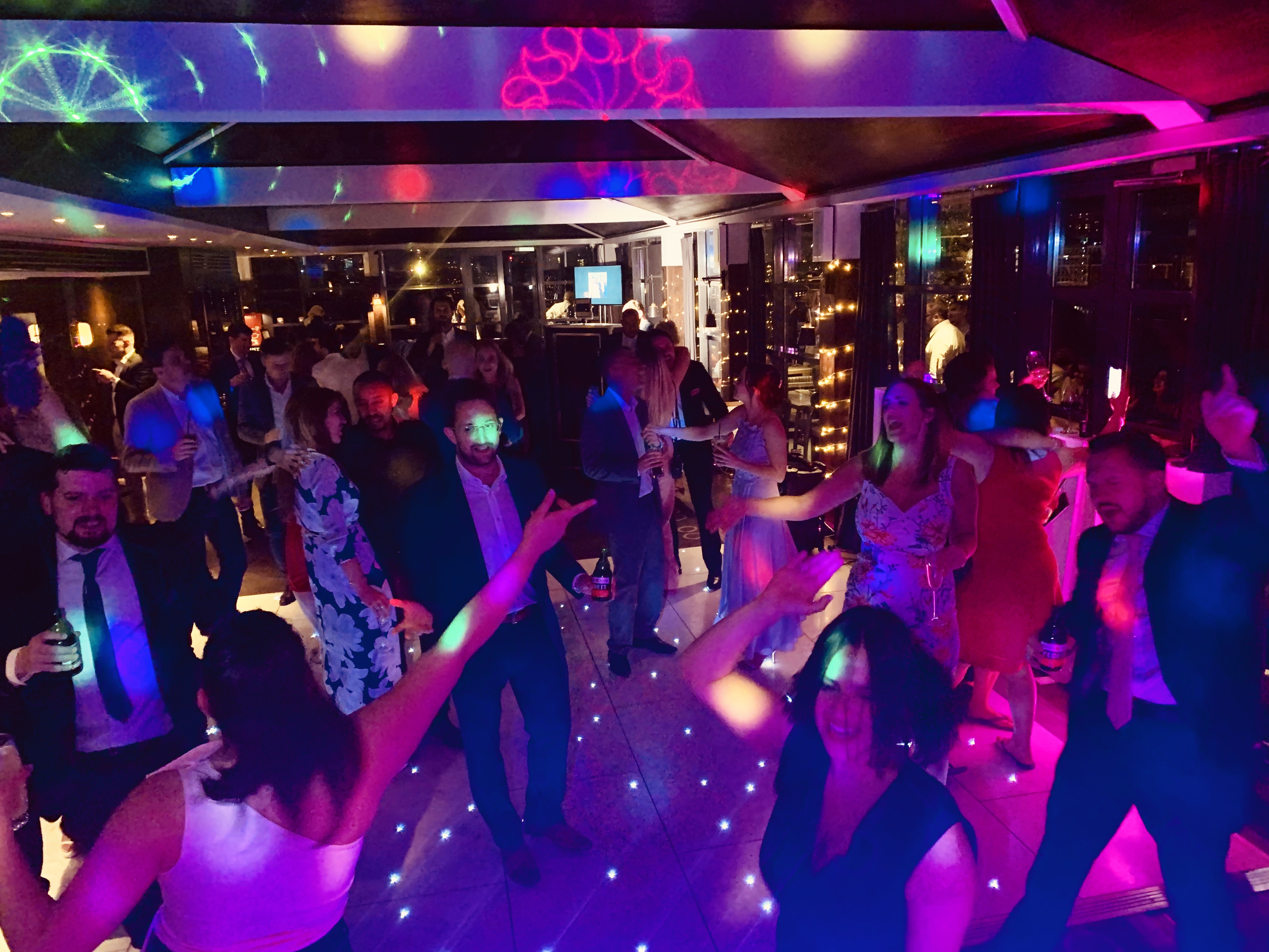 Hire a dance floor Essex  - MMENT