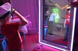 Magic mirror photo booth in Hertford - Moji Entertainer