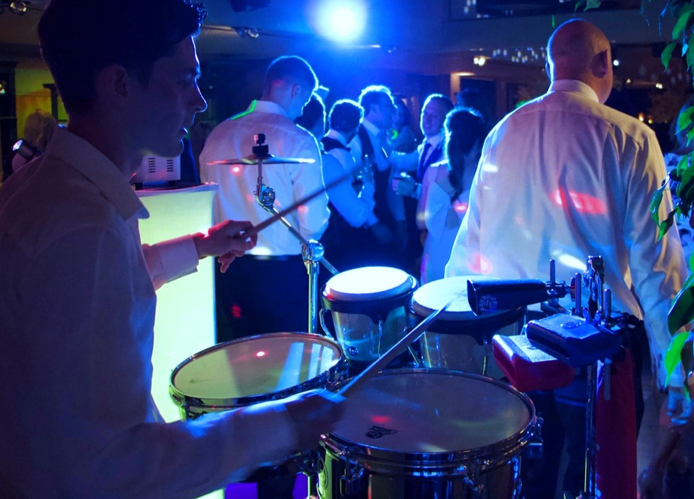 Dj and percussion hire Essex - MMENT