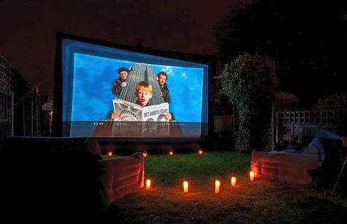 Garden Cinema Hire in Essex