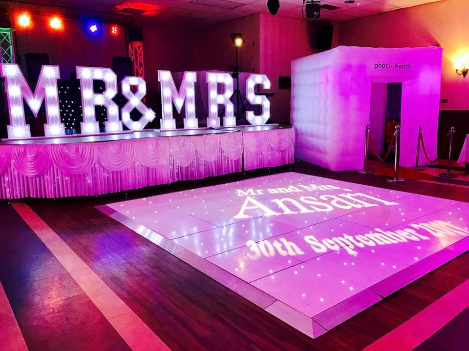 Dance floor hire in Essex, Kent - MMENT