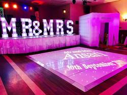 Dance floor hire in Essex, Kent - MMENT