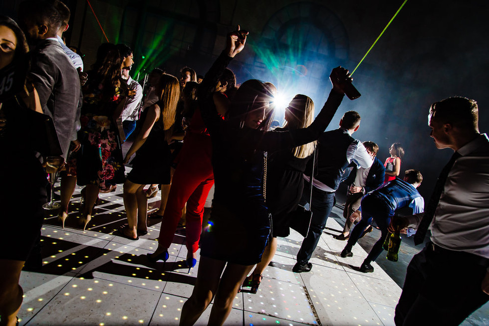 Adult party full dance floor - Corporate DJ hire Essex - MMENT