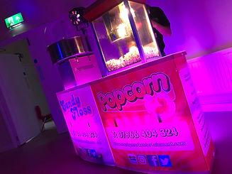 Candy floss, popcorn and slush machine hire Essex - MMENT