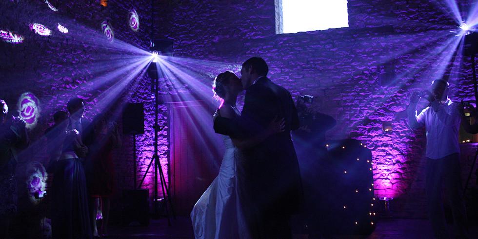Wedding uplighting hire Essex - MMENT