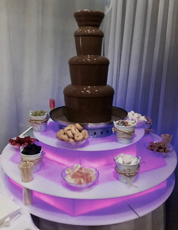 Chocolate fountain hire for kids parties in London - Moji Entertainer