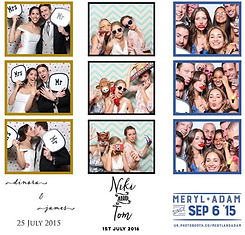 photo booth photo strip layouts