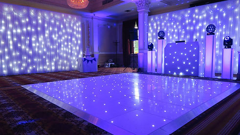 DJ set up options - DJ's for Weddings in Essex - MMENT