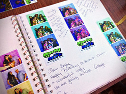 Guest book for photo booths in Essex - Moji Entertainer