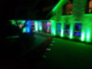 event lighting hire Essex - MMENT
