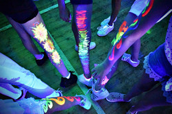 UV paint ideas and designs for uv parties Essex - Moji Entertainer