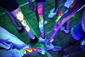 Glow in the dark body paint ideas - uv party - Moji Entertainer Essex