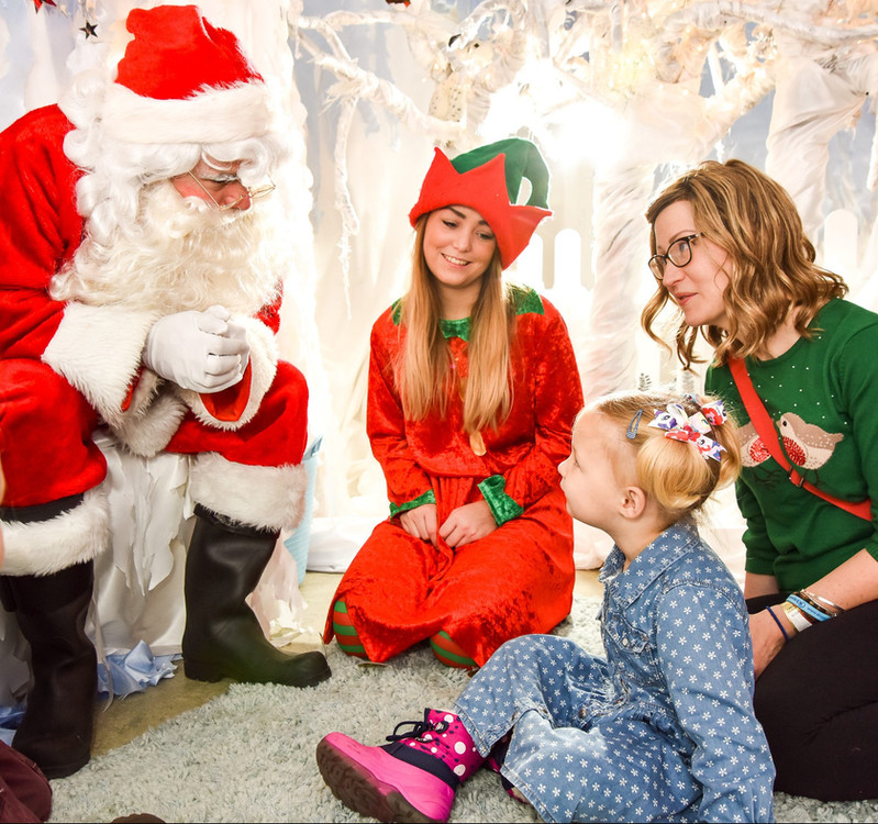 Father Christmas Experience Essex - Moji Entertainer