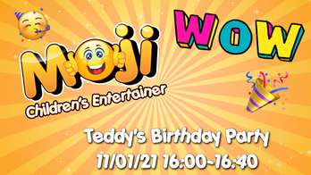 Virtual Party Invitations for Children's Online Parties