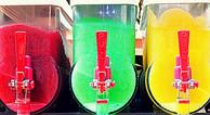 Slush machine close up - popcorn, candy floss and slush hire Essex - MMENT