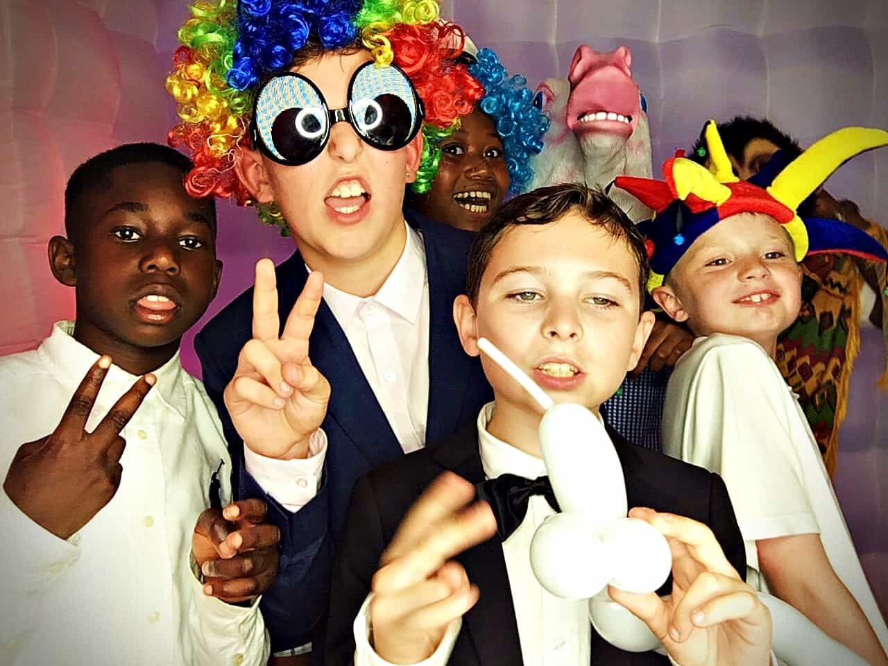 School leavers photo booth hire in Essex - Moji Entertainer
