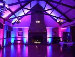 Large room with mood lighting in Essex - Moji Entertainer