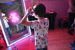 Magic mirror photo booth for kids parties London - Moji Entertainer