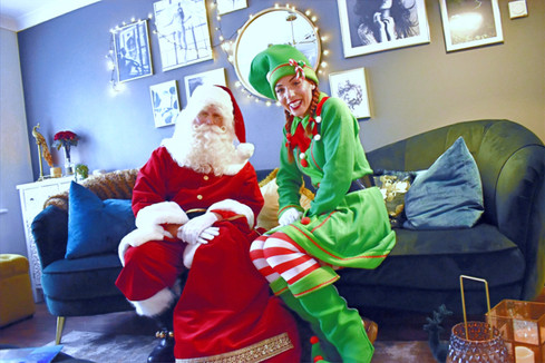 Father Christmas and Elf Home Visits in Essex - MMENT