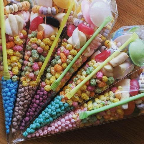 pre-filled sweet cones Essex - MMENT