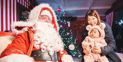 Father Christmas in a grotto - Father Christmas hire Essex - MMENT