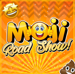 Children's Party - The Moji Road Show Essex Logo