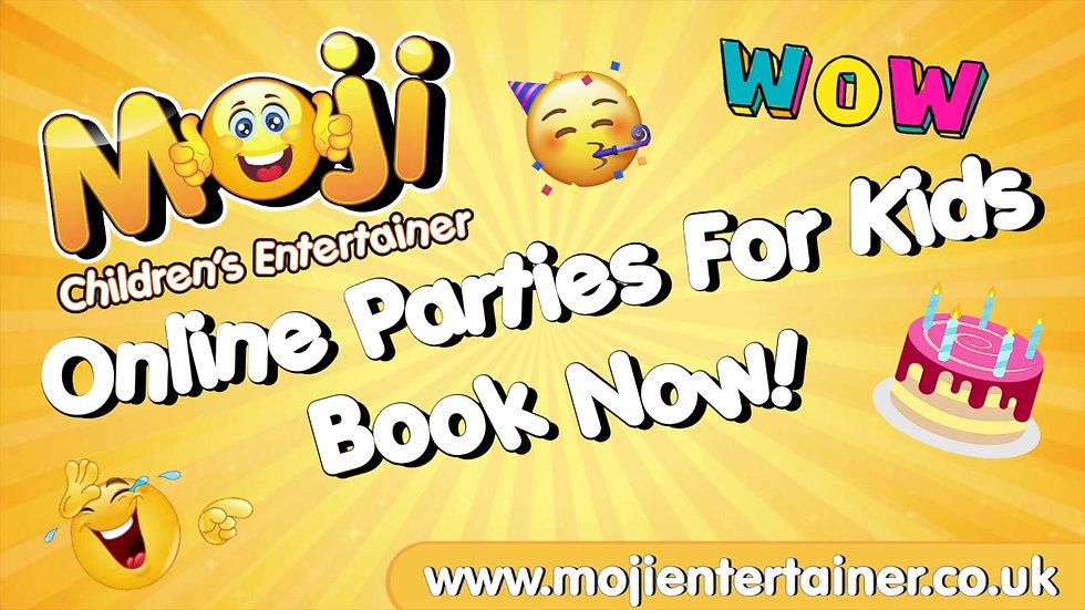 Virtual Birthday Parties For Children