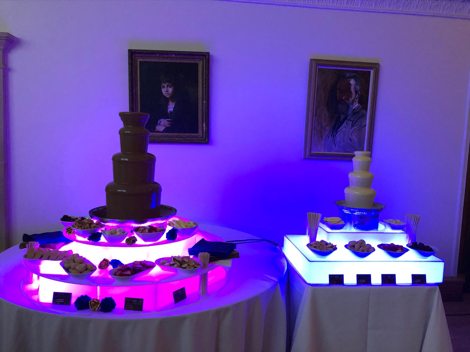 Chocolate fountain hire for kids parties in Essex - Moji Entertainer