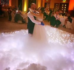 Wedding dance floor hire Essex for first dance - MMENT