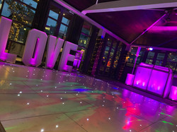 Dance floor hire London - MMENT