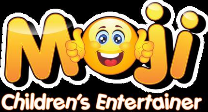 Moji Children's Entertainer Logo