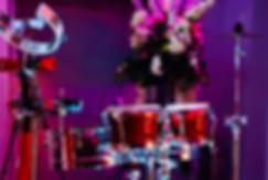 A beautiful percussion set up - bongo hire Essex - MMENT