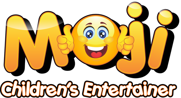 Moji Children's Entertainer Essex Logo