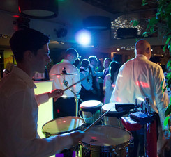 Live musicians and event lighting hire in Essex - MMENT