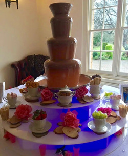 The best chocolate fountains in London - Moji Entertainer