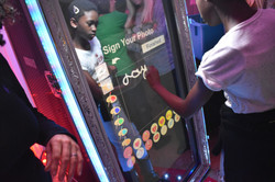Magic mirror photo booth for kids parties Hertford - Moji Entertainer