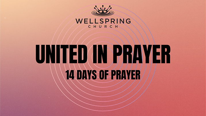United in prayer 14 days of prayer on in