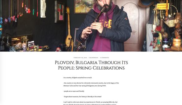 Plovdiv, Bulgaria Through Its People