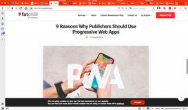 FatChilli Content Monetization Blog - Progressive Web Apps