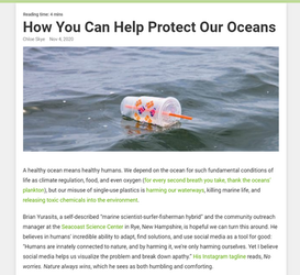 Earth911 Protecting the Oceans