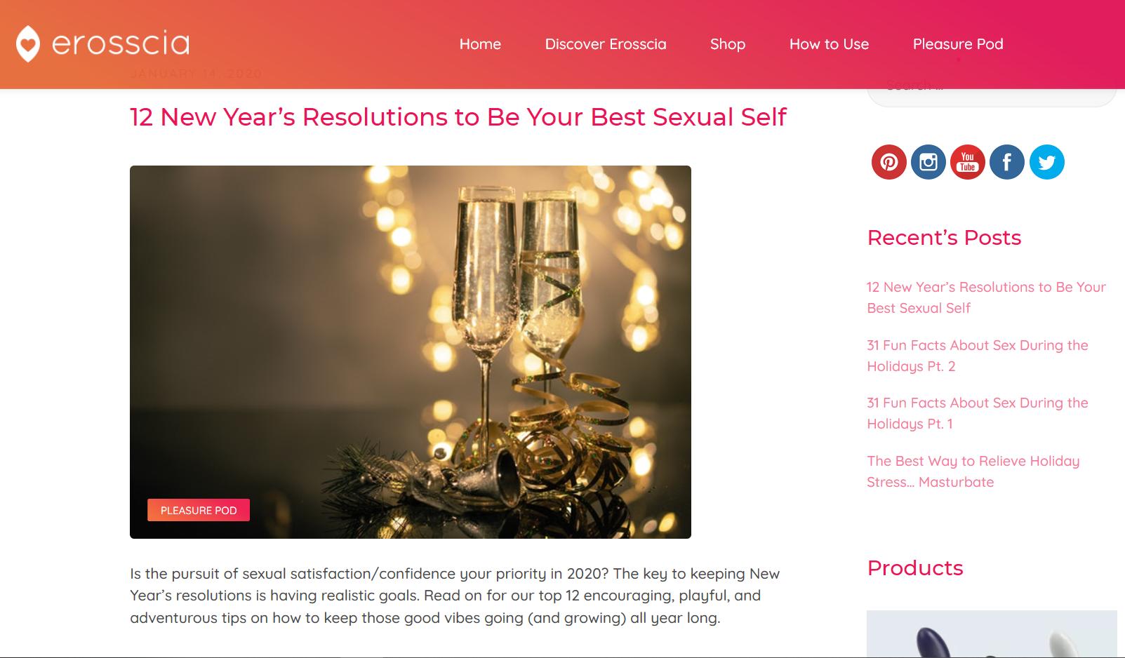 Erosscia Blog