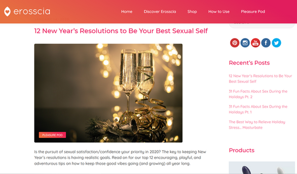 12 New Year's Resolutions to Be Your Best Sexual Self