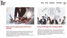 HR blog highlight: Top 8 Challenges for Hiring in 2020