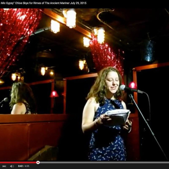 Featured Performance at Rimes of the Ancient Mariner