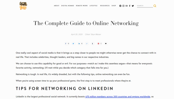 The Complete Guide to Online Networking