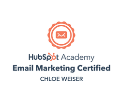 Hubspot Academy Email Marketing Certified