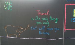 Travel - graffiti from London