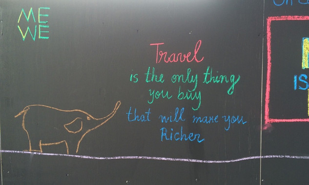 Travel - graffiti from London