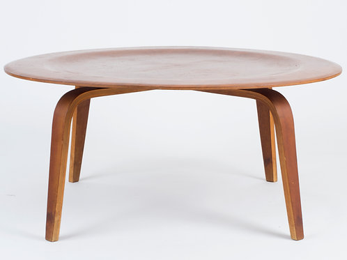 Eames CTW Coffee Table for Evans Products 1940's Rare Construction